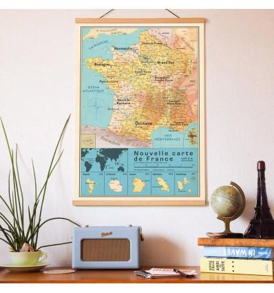 Carte de France Nouvelles Régions