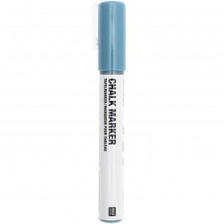 Marqueur craie Bleu Pétrole - Rico Design
