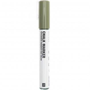 Marqueur craie Vert Olive - Rico Design