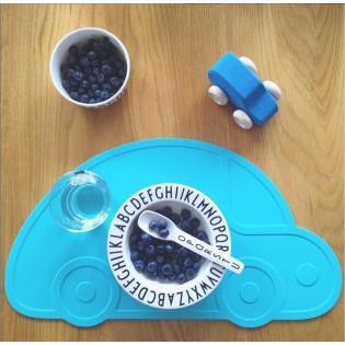 Set de table Voiture Turquoise - KG Design