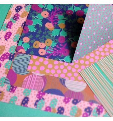 Set Origami Blue - Mon Petit Art