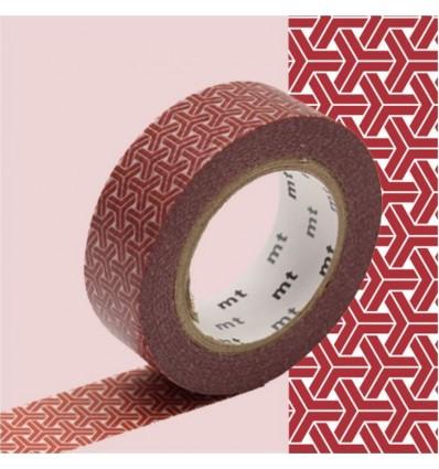 Masking Tape Kumikikkou bengala Rouge