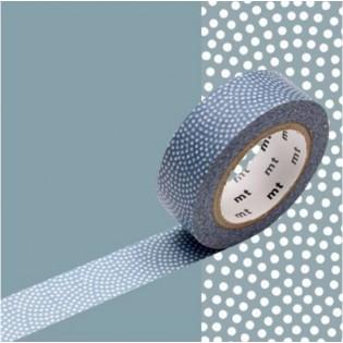 Masking Tape Samekomon bleu gris