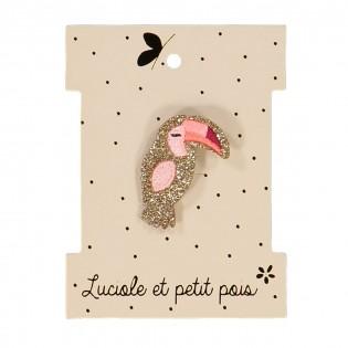 Broche Toucan - Luciole & Petit Pois