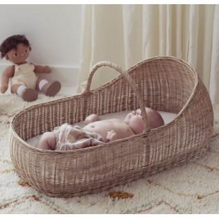 Couffin bébé en rotin Lyra - Olli Ella
