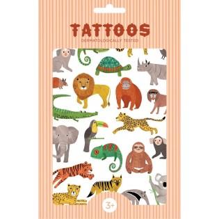 Tatouages Animaux de la Jungle - Petit Monkey