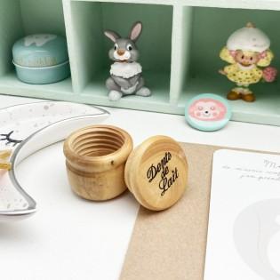 Boîte à dents de lait en bois - Trousselier