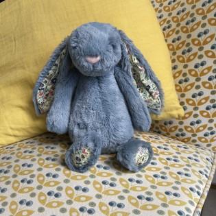 Doudou lapin Dusky et liberty (M) - Jellycat
