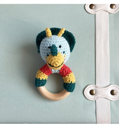 Hochet Dinosaure en crochet - Global Affairs