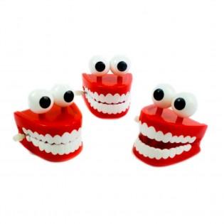 Dentier avec des yeux à remonter