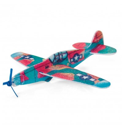 Avion vintage planeur polystyrène