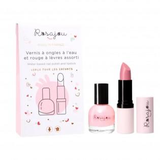 Duo vernis + rouge à lèvres Ballerine - Rosajou
