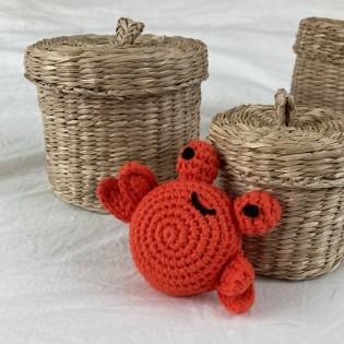 Hochet Crabe en crochet - Global Affairs