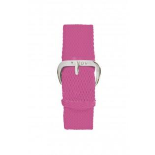 Bracelet Tressé Framboise - montre Millow