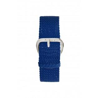 Bracelet Tressé Bleu - montre Millow