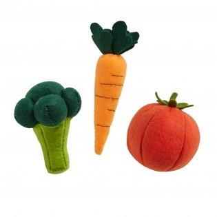 Kit DIY 3 Légumes en feutrine - Olli Ella