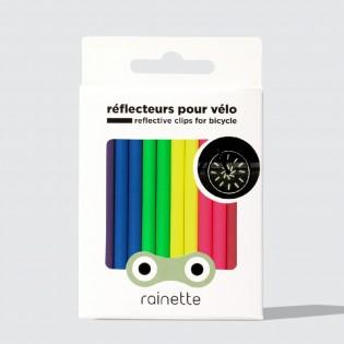 Réflecteurs pour rayons de vélo Fluo - Rainette