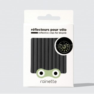 Réflecteurs pour rayons de vélo Noir - Rainette