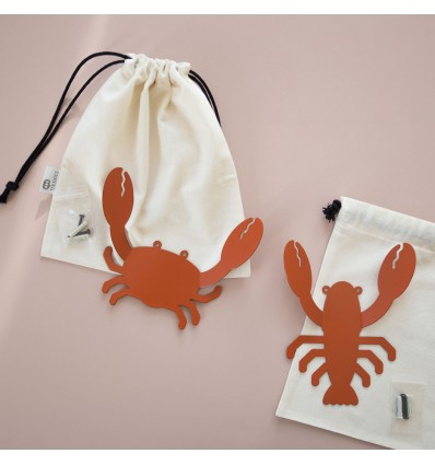 Patère en métal Crabe - Tresxics