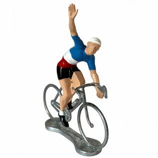 Figurine cycliste Vainqueur Champion de France - Bernard & Eddy