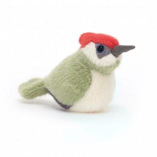 Peluche oiseau Pic Vert - Jellycat