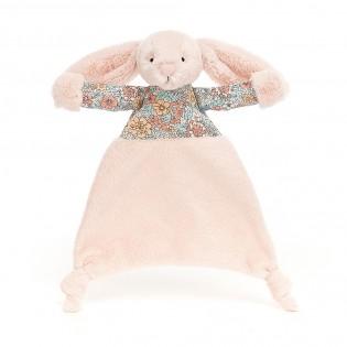 Doudou lapin plat Blossom Blush - Jellycat