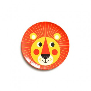 Assiette Lion Ingela Arrhenius