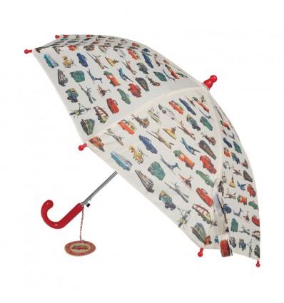 Parapluie enfant voitures rétro